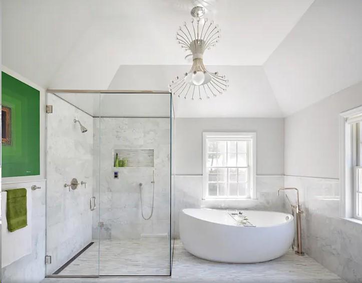 10个现代浴室的设计灵感,淋浴房怎么设计才好?