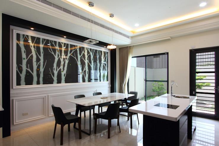 適合優雅住宅的16種完美的廚房設計,嵌入式廚房廚房設計