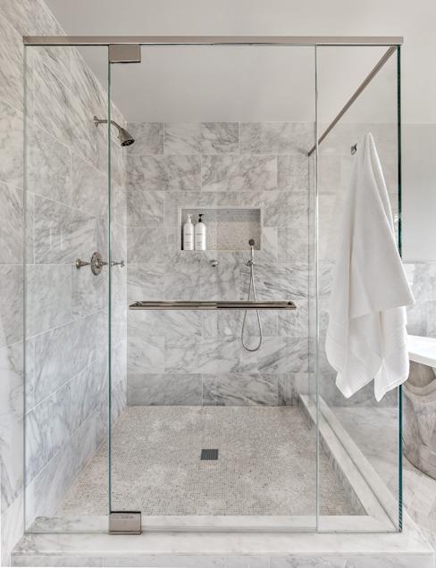 为什么选择大理石浴室设计?