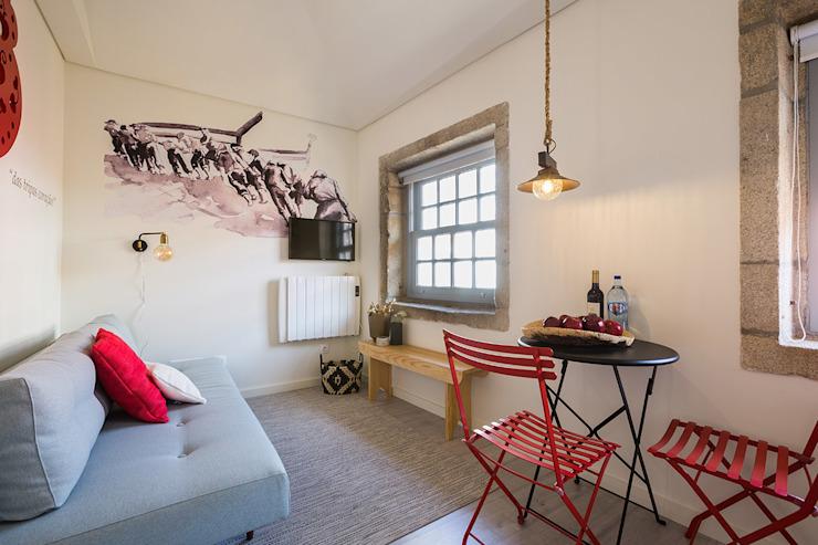 一个愉快的生活空间,波尔图装饰风格的舒适而明亮的公寓