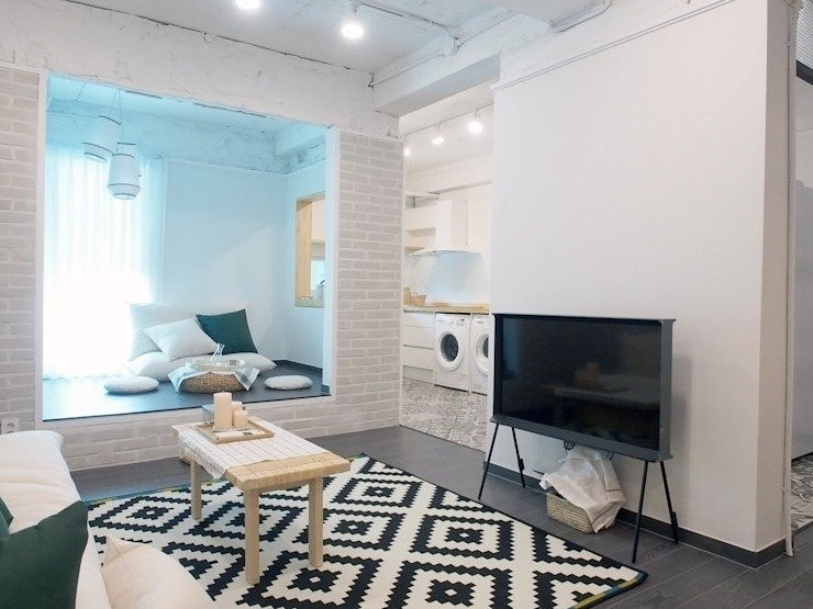 北欧风格的Ax超舒适公寓
