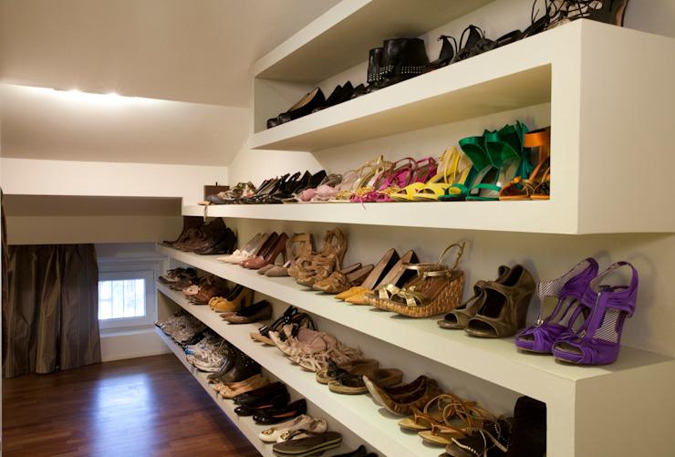 10个惊人的创意鞋柜,让你的鞋子瞬间提升一个档次!