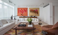 時髦舒適的當代天堂是裝飾與優雅的細節