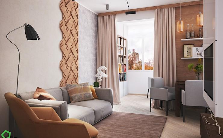 Raia公寓設計師的作品,舒適的生活空間