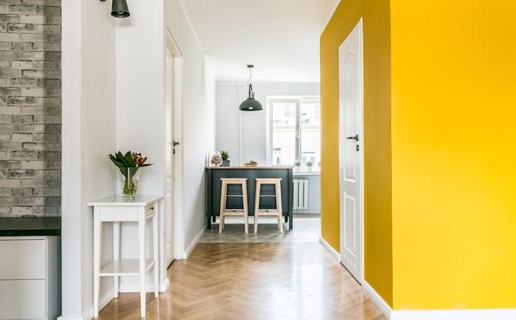 一个82 m²公寓充满了宜家风格,宜家家具及装修风格