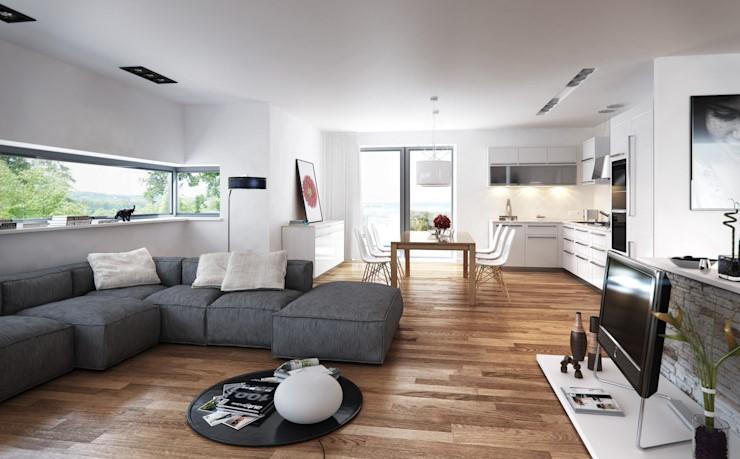 日本極簡主義室內設計趨勢:7個公寓,使極簡主義華麗