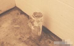 在厨房安装地漏的步骤方法,浴室排水管堵塞水泥干透卫生间地漏
