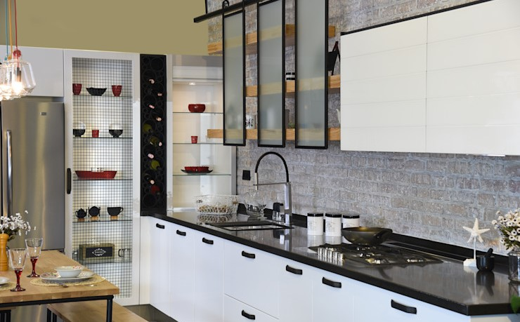 不同的廚房設計,給你一些好主意!