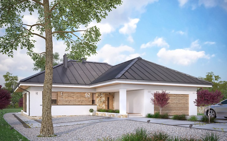 6個平房的平面圖及效果圖, 一層樓的房子設計圖平面圖