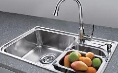 厨房安装水槽的注意事项有哪些?如何安装台下盆不锈钢水槽