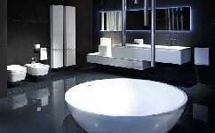 浴缸安装的注意事项和安装技巧,独立式浴缸下水的安装方法图