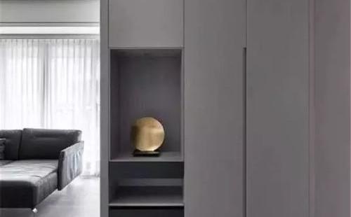 鞋柜的設計風格有什么巧妙之處?鞋柜和屏風的設計風格