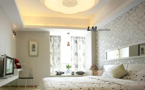 房间吸顶灯尺寸确定,房间灯安装尺寸,你是不是都对了