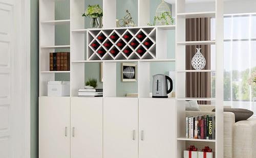 客廳酒柜屏風的安裝過程和注意事項