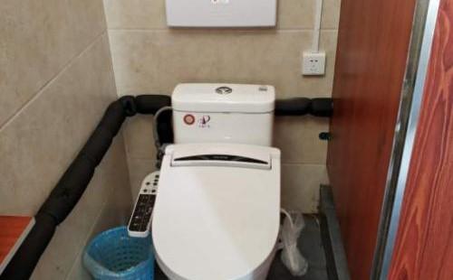 智能马桶座圈的安装方法