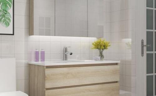 壁挂式浴室水池的安装步骤
