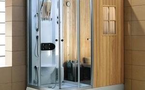 蒸汽淋浴房的安装方法,蒸汽淋浴房安装步骤和教程