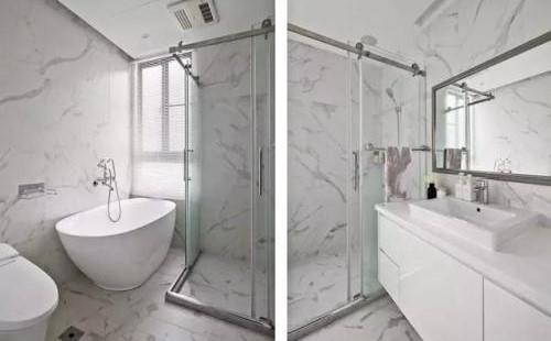 步入式浴缸和步入式淋浴房怎么设计?