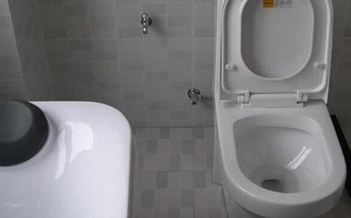 洗手沖水馬桶的安裝方法