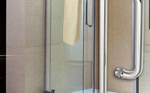 无框淋浴门的安装方法