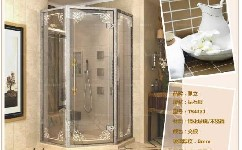 钢化玻璃淋浴房的安装方法和注意事项
