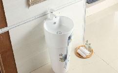 圆柱形洗脸盆的详细安装步骤