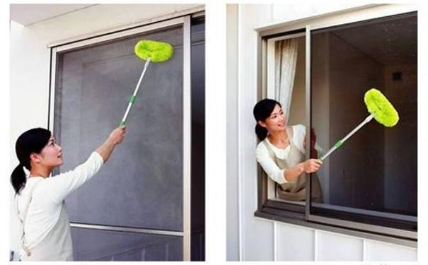 隱形紗窗怎么清洗?