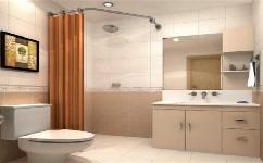 你想在浴室里掛浴簾嗎?