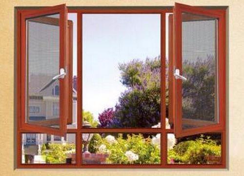 如何在平開窗的紗窗上安裝紗窗